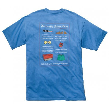 Fraternity Dress Code Tee - Blue